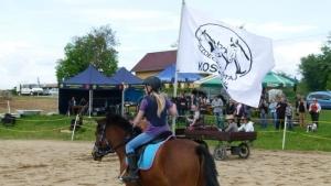 Vlajka jezdecké stáje Kosoř